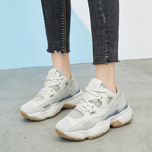 2019 New Trend Sports Shoes Spring Summer Womens Jogging Women Top Quality Girls Gym Trainers Beige Pink Running