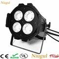 200 Вт LED Par Cans/4x50 Вт теплый белый + холодный белый COB освещение для мытья/DMX512 LED COB Par поверхностный свет/200 Вт Светодиодный прожектор проектор