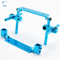 1 Set Blue Alloy Magnetic Stealth Invisible Body Post Mount For RC 1 10 Touring Car