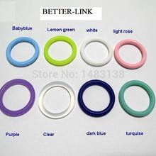 50 шт силиконовый Mam адаптер уплотнительное кольцо/пустышка кольцо 21 мм* 4 цвета выбор* пищевой силикон