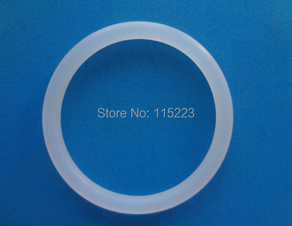 28*4mm Clear Silicone Rubber Pacifier Rings Soft O Ring Kit Oil Seal ...