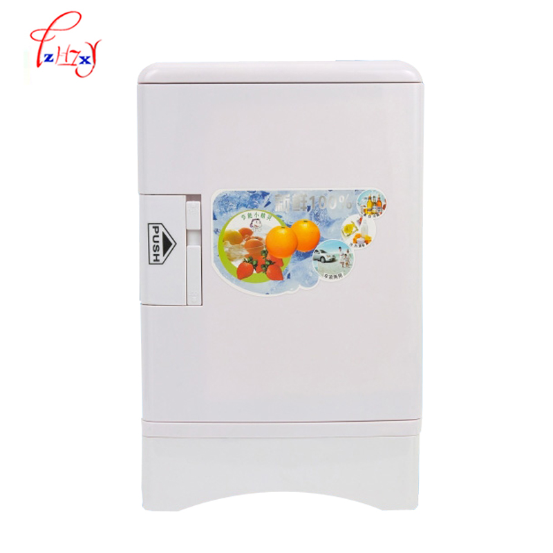 Mini Fridge Freezer 13.5L Home Dual-use Portable Refrigerators Refrigerator Car Compact Car 12/ 220 V/ Changes In Temperature