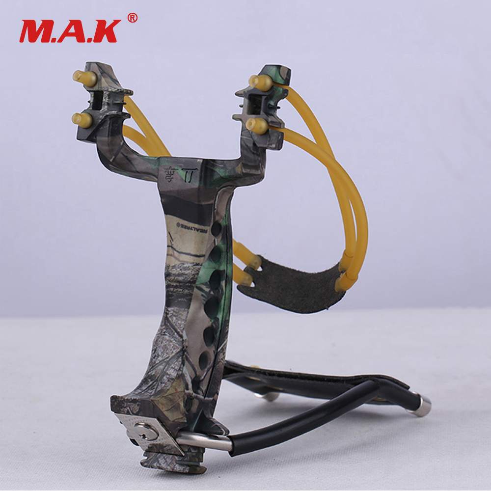 Fronde de machette Camouflage poignet pliant Sniper fronde catapulte jeux de plein air puissant chasse arc flèche outils jeu de terrain