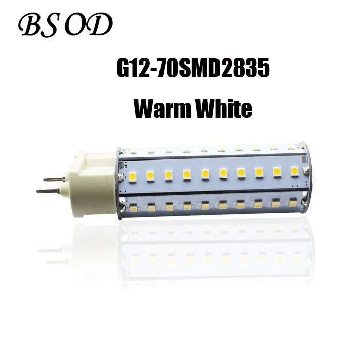 Bsod G12 LED Lamp 10W AC100-265V 70pcs SMD2835 4000-4500K Warm White Ultra Bright 360 Degree LED Corn Bulb Light kyper 265 70 r16 в сп б