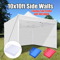 Oxford Cloth Party Tent Side Walls Waterproof Garden Patio Outdoor Canopy 3x3m Sun Wall Sunshade Shelter Tarp Sidewall Sunshade