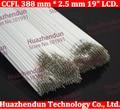"Free shipping  CCFL 388 mm * 2.5 mm 19"" LCD Backlight Lamp Hight quality 388mm x 2.5mm light  388*2.5mm"