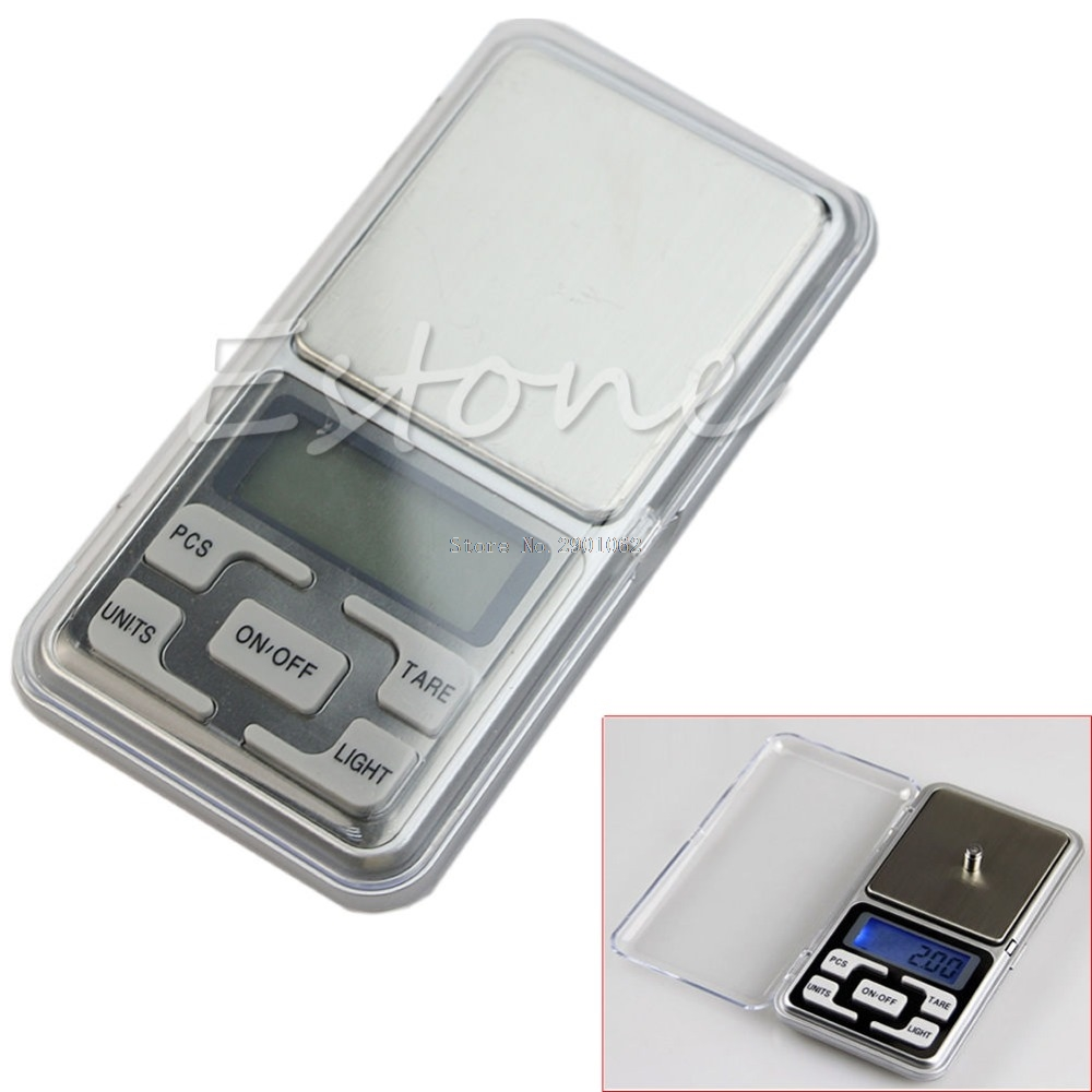 100g 0.01g Digital Pocket Scale Jewelry Precision Weight Electronic Balance New -B119 pocket 0 1 500g digital balance food flour weight scale kitchen measuring spoon 2 x aaa