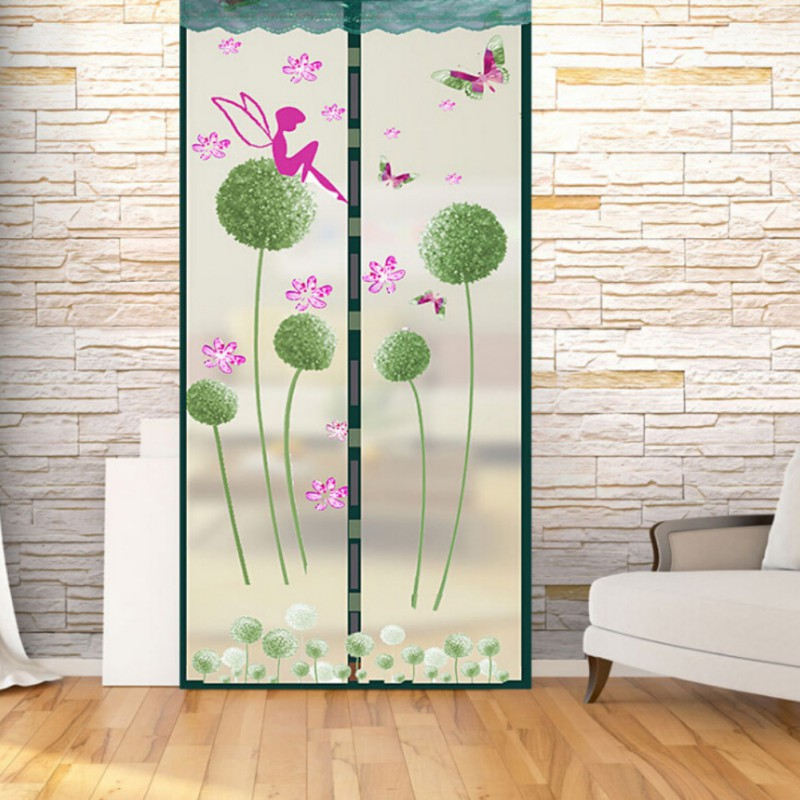 Prevent Mosquito Screen Encryption Magnet Mosquito Net Curtains Tulle Door Screen Magnetic Moustiquaire Porte 3 Colors