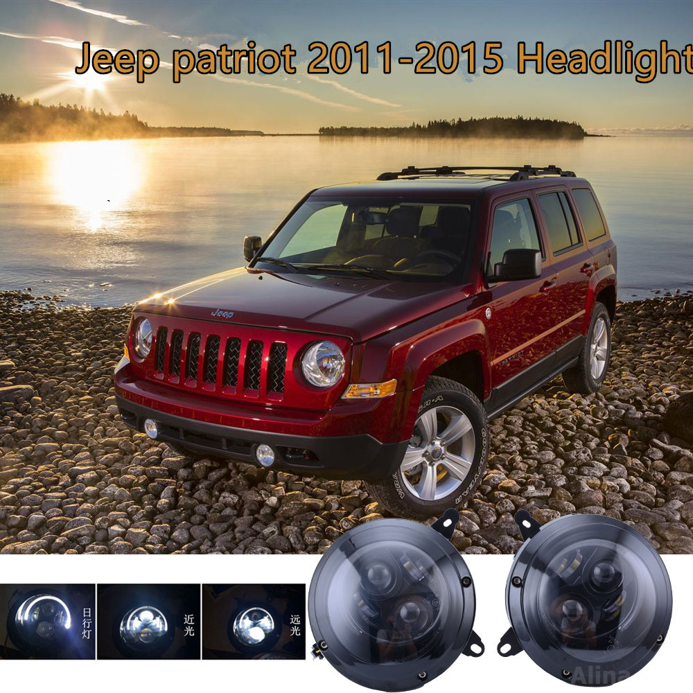 Led Headlights For Jeep Patriot 2011-2015 LED DRL Projector Assembly Replacemnt Hid Headlight