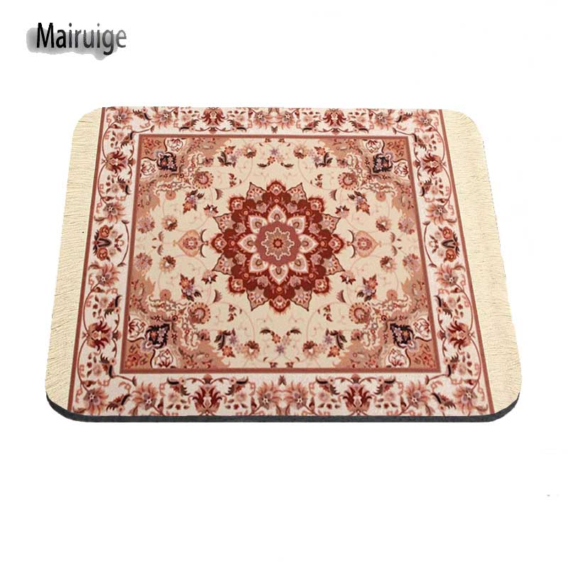 persian carpet new arrival design amazing make your own mouse pad durable mat 1822cm and 2529cm mouse mats decorate your deskin mouse pads from computer