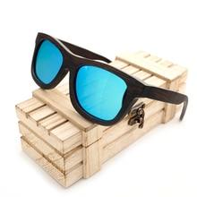 BOBO VOGEL BG005d Marke Design Unisex Handgefertigten Holz Sonnenbrillen Natur Holz Brillengestell Polarisierte Linse Mit Holz Geschenkbox