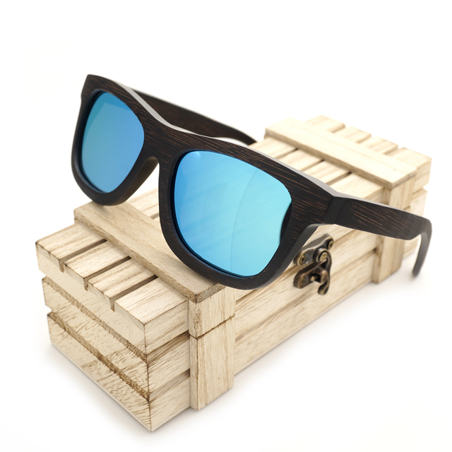 BOBOBIRD G038 Design Da Marca Unissex óculos de Sol De Madeira Feitos À Mão Natureza De Madeira Armação de óculos de Lente Polarizada Com Caixa De Presente De Madeira