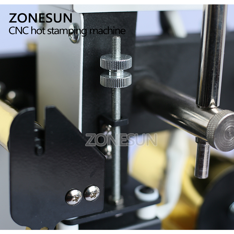Image 3 - ZONESUN  220V/110V Manual Gold Hot Foil Stamping Machine Tipper Machine,Card Tipper for Leather, PVC Card +2FREE FOmachine machinemachine stampingmachine gold -