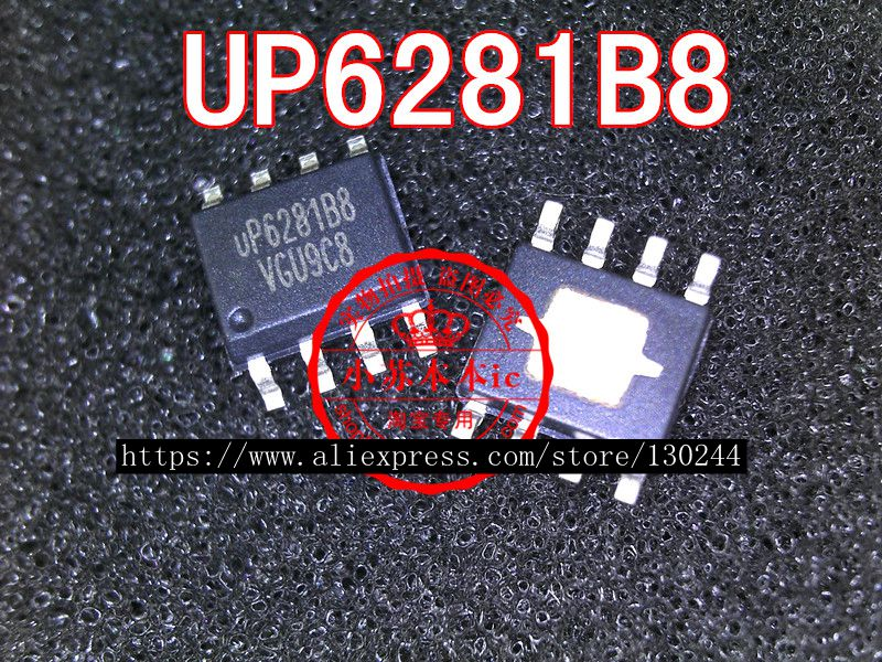 1pcs/lot UP6281B8 SOP8 UP6281 SOP-8