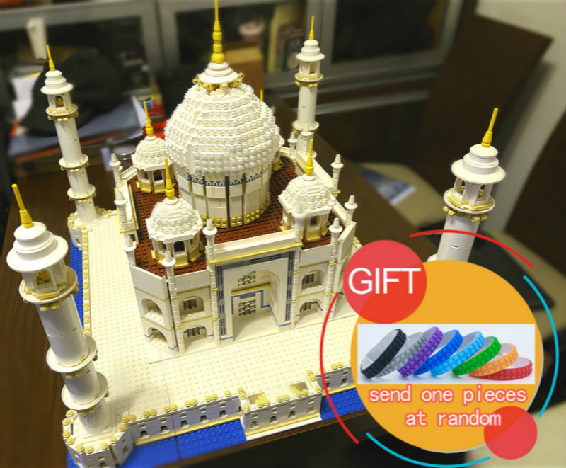 17001 5952pcs City Series The Tai Mahal set Compatible with 10189 Model Building Kits Blocks toys lepin17001 city street tai mahal model building blocks kids brick toys children christmas gift compatible 10189 educational toys