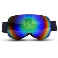 VECTOR Winter Ski Goggles Spherical UV400 Anti Fog Big Ski Mask Glasses Men Women Snow Snowboard