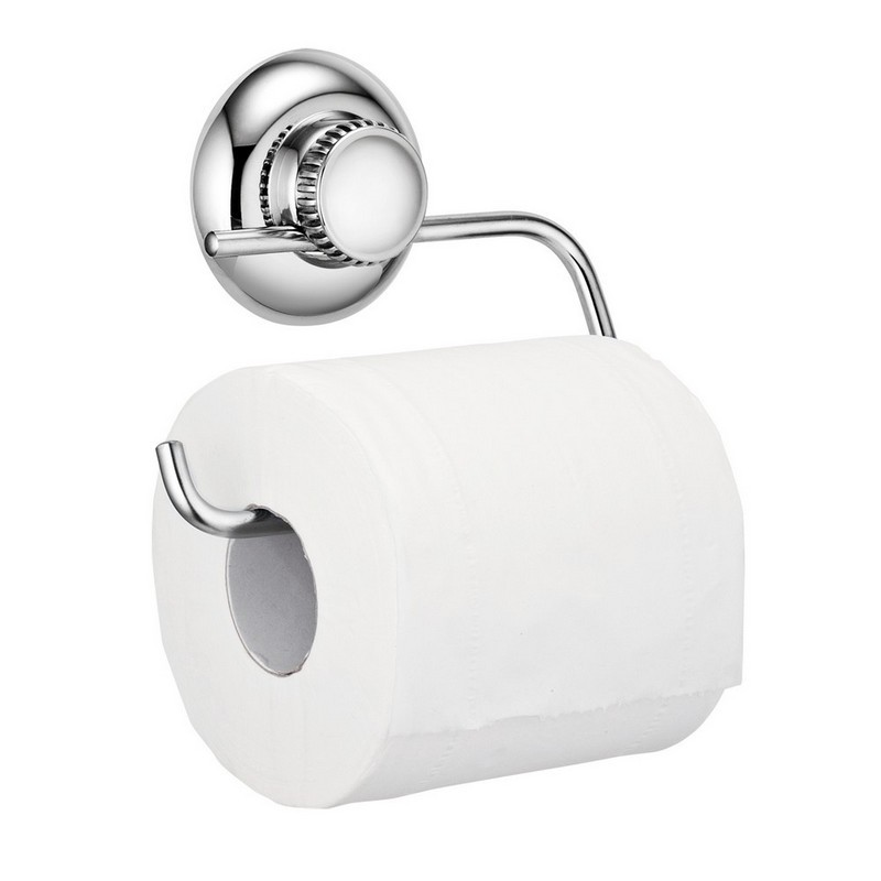 Metal Toilet Paper Stand Part - 50: Stainless Steel Suction Toilet Paper Holder Toliet Paper Stand Tissue Holder  ...