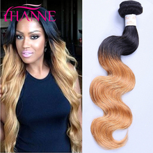 4 Bundle Deals Ombre Blonde Color Peruvian Body Wave 6A Ombre Peruvian Virgin Hair Body Wave Sexy Formula Ombre Human Hair Weave