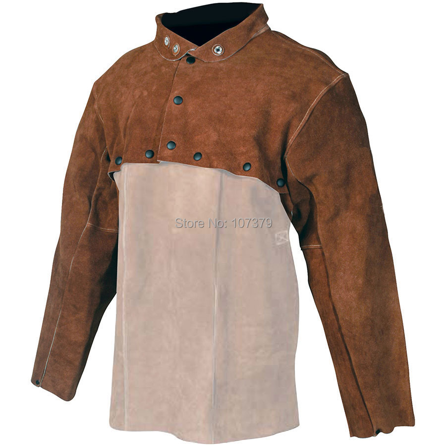 Split Cow Leather Welder Apron Flammhemmende Cow Leather Welding - Schutz und Sicherheit - Foto 3