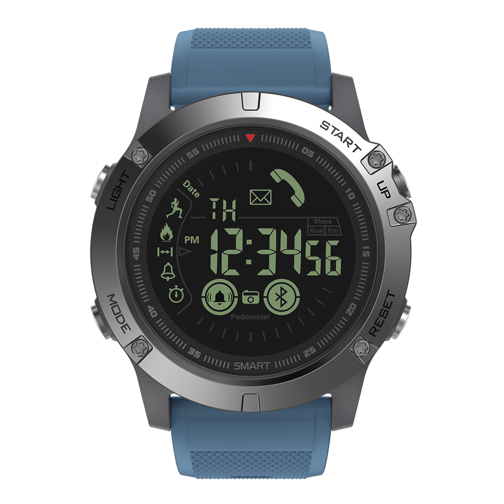 Rugged Smartwatch 24h Time 16