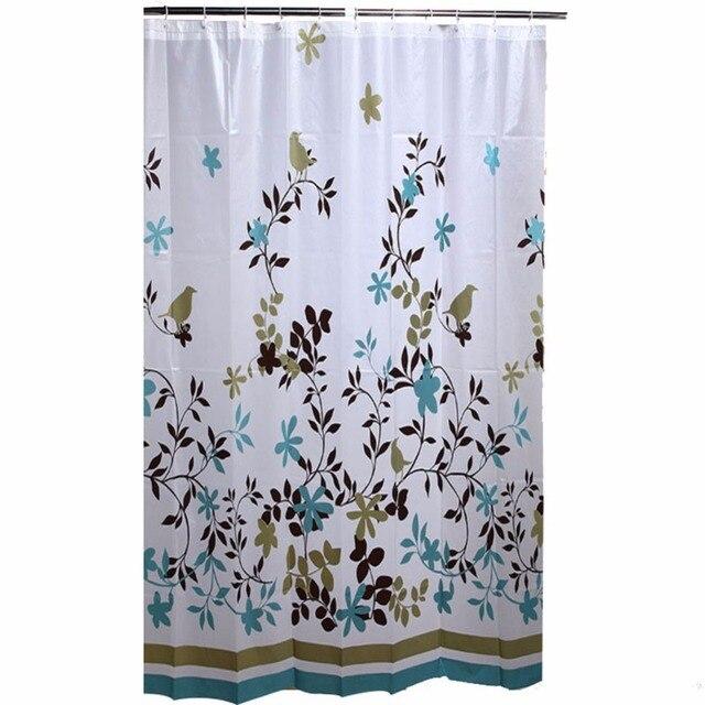 180x180CM PVC Free PEVA 8 Gauge Tree Shower Curtain Liner For Bathroom With 12 RingsRustroof Metal Grommets100 Waterproof
