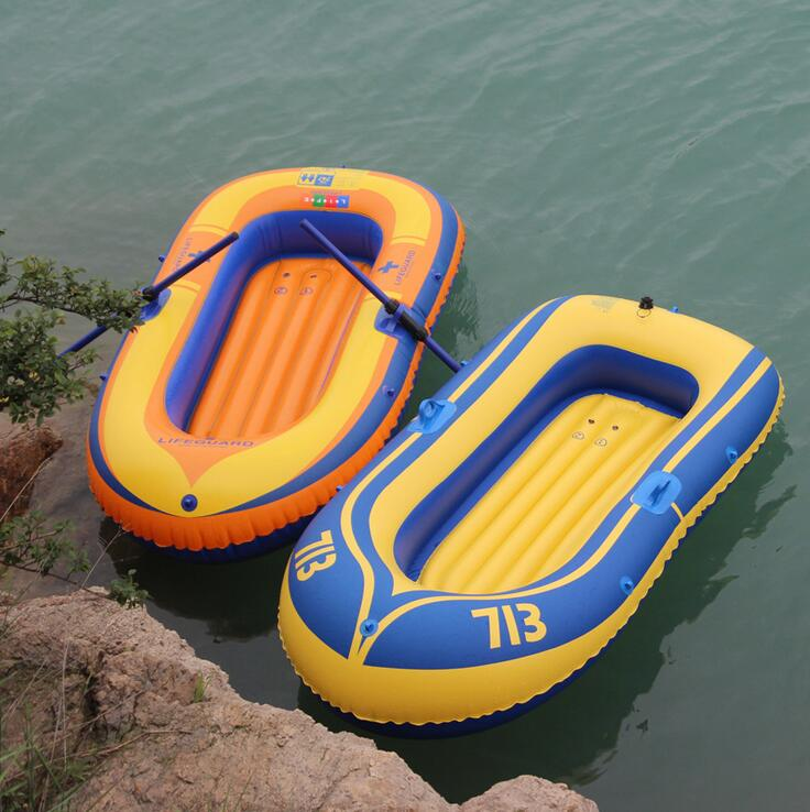 Inflatable boat double portable pvc inflatable boat rubber for Rubber boats for fishing