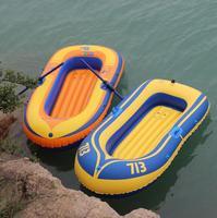 Inflatable thuyền đôi Xách Tay pvc thuyền inflatable thuyền cao su kayak câu cá thủy phi cơ đôi chất lượng cao c tải 150 kg