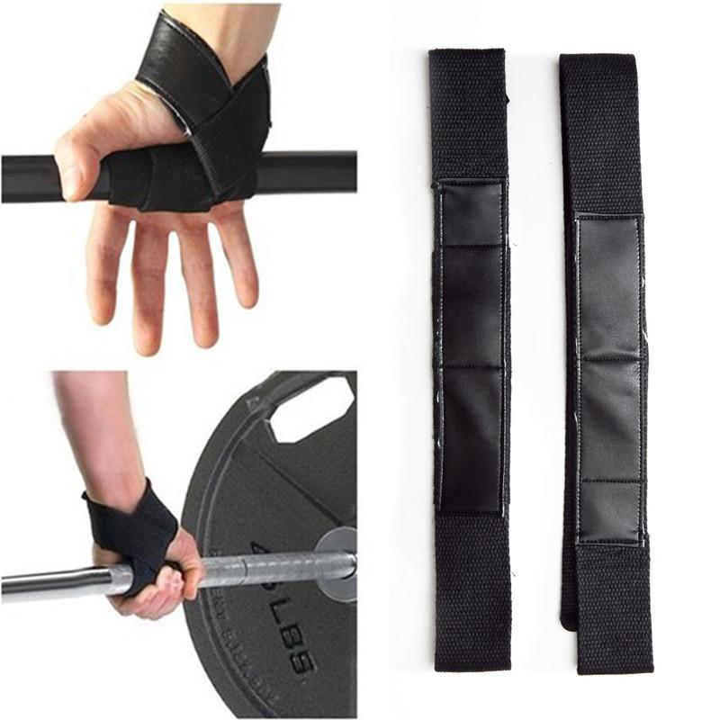 1 Paar Gewichtheben Hand Handgelenk Gürtel Stützgurt Brace Band Gym Straps Gewichtheben Handwraps Bodybuilding Grip Handschuh