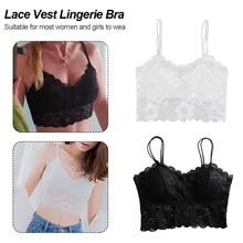 Hot sexy women bra Summer 2019 fashion Sheer Lace floral Bralette Bras Girls Strappy lingerie underwear sweet wire free Bra