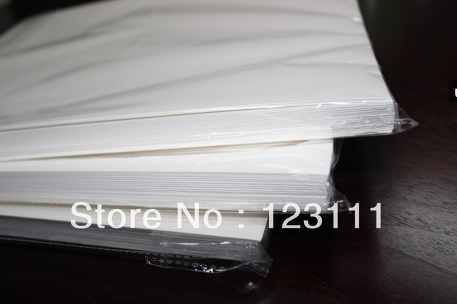 100 sheets A4 size heat tansfer paper sublimation paper For epson Stylus Pro7710/9710/7700/9700 printers