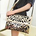 Free Shipping 2015 New Vintage Women handbag Women Clutch Bag Hollow Out Style Women Messenger Bags Evening Bag