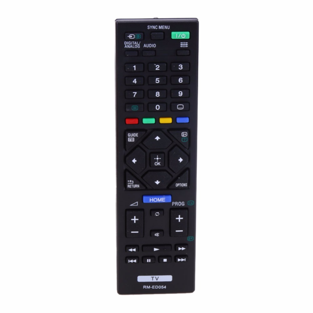 Universal Remote Control RM-ED054 For Sony LCD TV KDL-32R420A KDL-40R470A KDL-46R470A genuine hongdak rm s1am 1 2 lcd wired remote control camera timer for sony alpha dslr a100 more