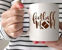 Football Mom Mug Mothers Day Mugs Coffee Cup Home Decal Tea Cups Dishwasher Microwave Safe Beer