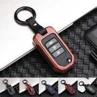 Цинковый брелок для автомобильных ключей, кармашек для часов чехол для Honda Civic CR-V HR-V Accord jade Crider Odyssey 2015-2018 дистанционная защита