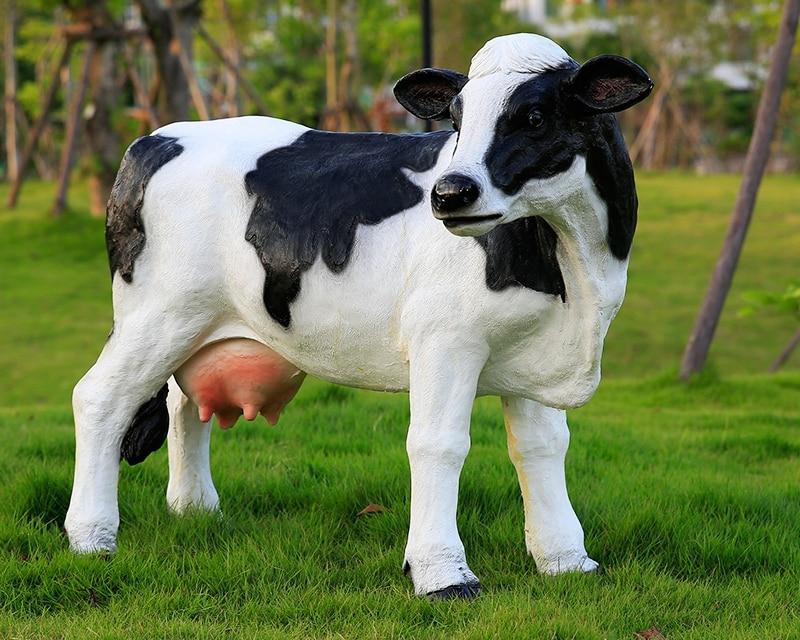 Promoci n de vaca paisaje compra vaca paisaje for Vacas decorativas para jardin