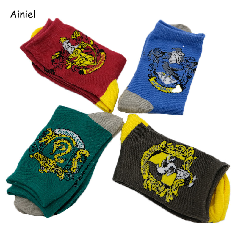 Hermione  Gloves Socks Stockings Fashion Autumn Winter Student Gryffindor Slytherin Hufflepuff Cosplay Costumes Men Women girls