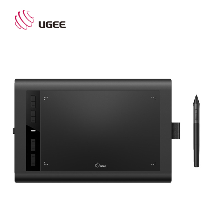 UGEE Digital Tablet HK1060 PRO 10*6 inch Graphics Tablet With Pen 2048 Level Digital Drawing tablet l Pen digital tablets 8 5 inch smart graphic drawing tablet 2048 level signature pad rechargeable pen ugee cv720 usb
