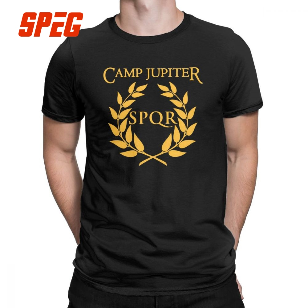 ca8679b30 Detail Feedback Questions about SPQR T Shirt Camp Jupiter Rick Riordan Percy  Jackson T Shirt Men Summer Style Tops Funny Crewneck 100% Cotton Tees on ...