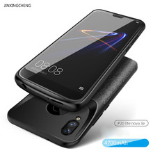 JINXINGCHENG Battery Charger Case for Huawei P20 Lite Nova 3e 4700mah Back Clip Battery Wireless Fast Charger Cover Accessories