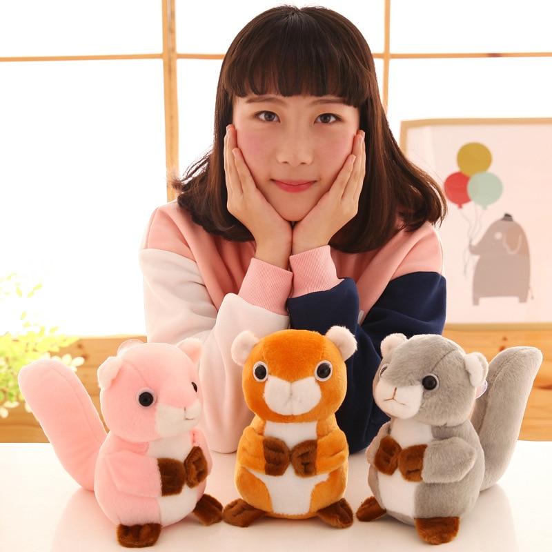 1pcs anime squirrel plush toy soft Stuffed animals Plush Doll kawaii toys for children plush girl's Pendant gifts 5pcs lot pikachu plush toys 14cm pokemon go pikachu plush toy doll soft stuffed animals toys brinquedos gifts for kids children