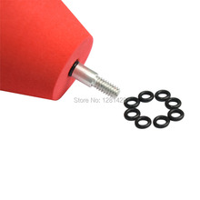3PCS Red Color CS Foam Arrow Heads For CS Archery Shooting Game+Free Shipping