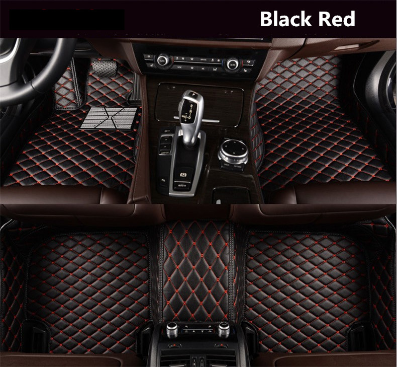 Auto Floor Mats Foot Step Mat For Toyota CHR C-HR IZOA 2017 2018 2019 High Quality Embroidery Leather Mats