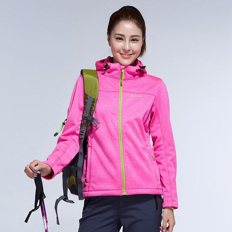 Winter Water Resistant Waterproof Breathable Softshell Jacket Women Windbreaker Outdoor Sport For Climing Hiking Camping цены онлайн