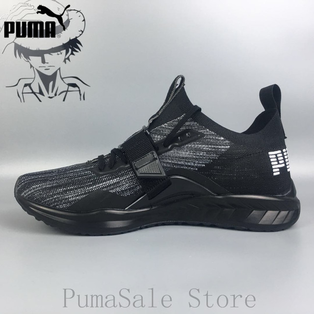2d6b188c896 PUMA IGNITE evoKNIT Couple Sports Shoes Men s Badminton Shoes Women Knit  Mesh Breathable Sneakers Shoes Size