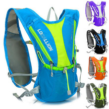 With Water Bag 5L Camping Backpack Hiking Riding Climbing Bags Reflective Multifunction Bike Cycling Backpack Sport Outdoor Bags