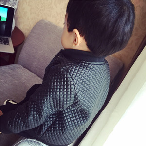 Image 4 - 2020 kids autumn winter clothes Children Jacket for baby Boys Outerwear Childrens PU Leather Coat black toddlers warm thick