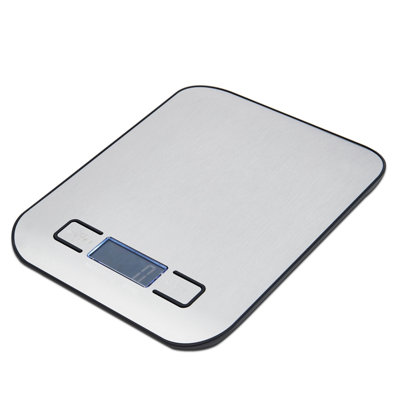 SDFC-Electronic Stainless Steel LED Digital Scale For Food Kitchen 11lb 5000g x1g