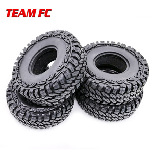 "Image 5 - 4 pezzi 1.9 ""RC Rock Crawler gomma rocce pneumatici/ruote pneumatici per 1:10 assiale SCX10 RC4WD D90 D110 TF2 114MM TRX 4 S104"