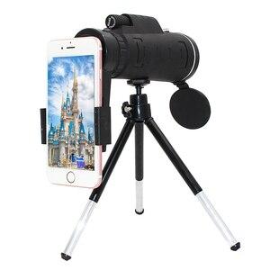 Image 1 - Girlwoman 40X ズーム単眼携帯電話望遠鏡 40 × 60 iphone の huawei 社 xiaomi スマートフォンのカメラレンズ屋外ハンティング