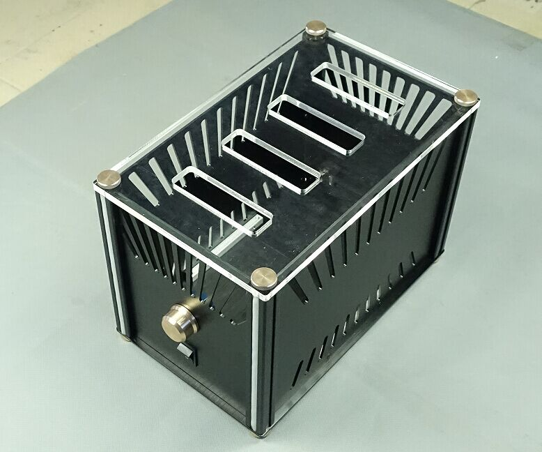 New chassis tube headphone chassis home audio chassis size 227x254x362mm new